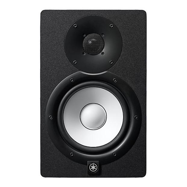 yamaha hs7 powered studio monitor pair with stands xlr reverb. Black Bedroom Furniture Sets. Home Design Ideas