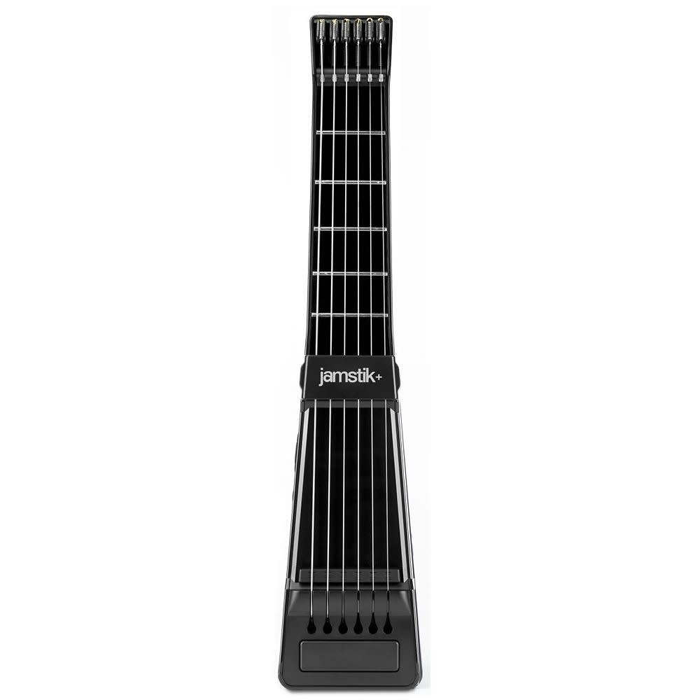Jamstik+ Bluetooth Enabled Digital Guitar with Real Strings and Frets (Black)