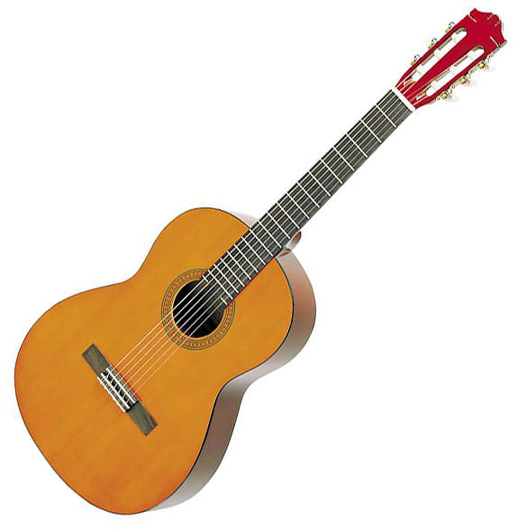 Yamaha cs40 7 8 scale classical guitar reverb for Yamaha jr1 vs jr2