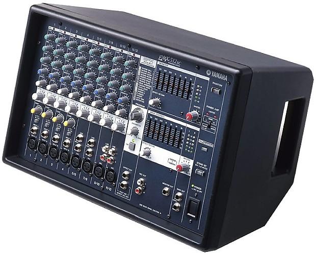 yamaha emx512sc 12 input dual 500w amp eq powered mixer free reverb. Black Bedroom Furniture Sets. Home Design Ideas
