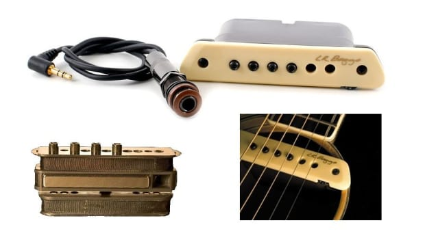 lr baggs m1 active soundhole humbucker acoustic guitar pickup reverb. Black Bedroom Furniture Sets. Home Design Ideas