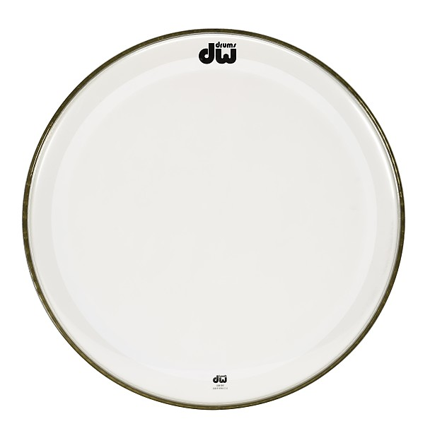 dw drum heads 20 inch clear edge bass drum head reverb. Black Bedroom Furniture Sets. Home Design Ideas