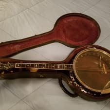 Bacon & Day Silver Bell Tenor Banjo 1920's image