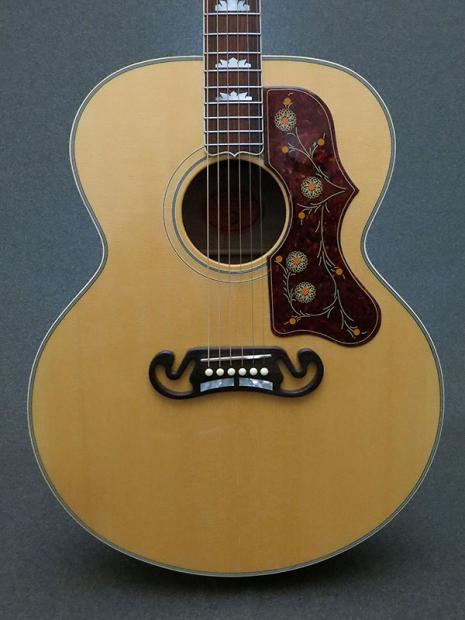 Five Star Auto Sales >> Gibson SJ-200 5- Star Quilt 2008 Natural / Blonde | Reverb