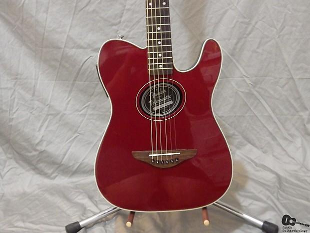 fender telecoustic acoustic electric guitar wine red reverb. Black Bedroom Furniture Sets. Home Design Ideas