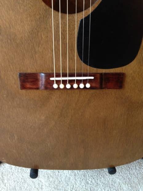 Strad O Lin Vintage O0 Acoustic Electric Guitar Pre 1970