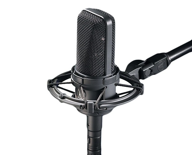 how to set up condenser mic with phantom power