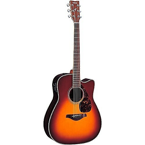 Yamaha Fgx730sc Solid Top Acoustic Electric Guitar