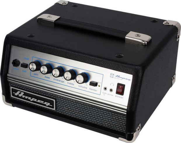 ampeg micro vr 200w solid state svt classic style bass amp head reverb. Black Bedroom Furniture Sets. Home Design Ideas