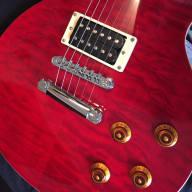 <p>Epiphone Les Paul Classic Quilt Flametop Cherry Set Neck Guitar with slash looks! es sg ri lp jr</p>  for sale