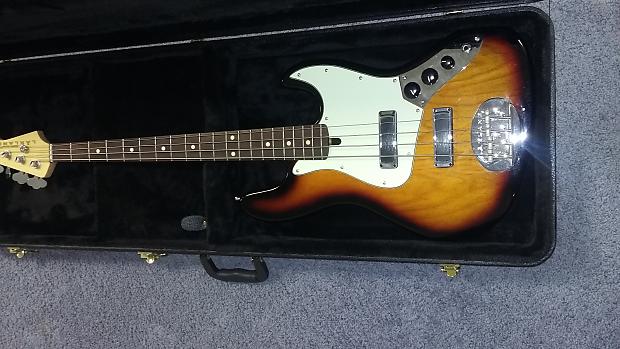 Lakland Joe Osbourne Jazz Bass 2015 Sunburst   Reverb