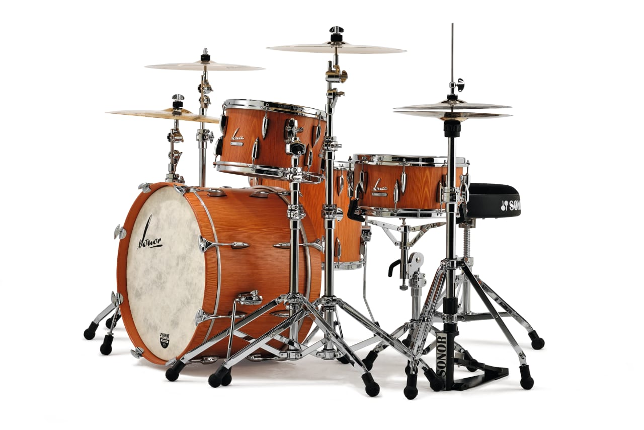 Sonor vintage series drum set 20 3 piece shell pack vt 15 for Classic house drums
