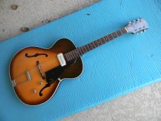 1961 Guild T-50 Thin Hollow Body Vintage Guild Thin Body Electric Cool! image