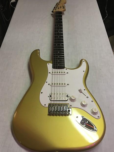 Fender Bullet Stratocaster Custom Color Gold For Guitar