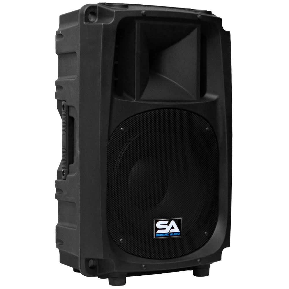 seismic audio passive 12 inch 2 way pa speaker cabinet reverb. Black Bedroom Furniture Sets. Home Design Ideas