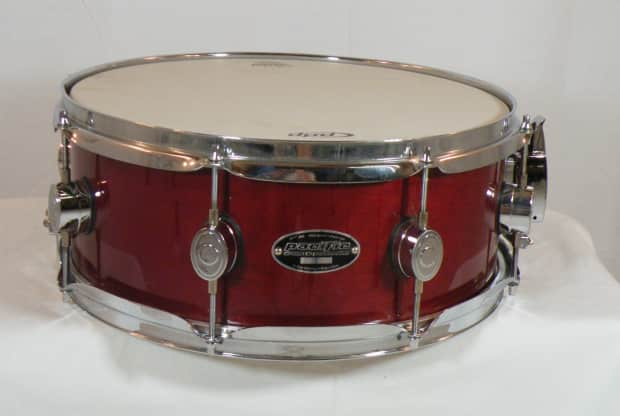 pacific drums fx series red 6 x14 snare drum nos reverb. Black Bedroom Furniture Sets. Home Design Ideas