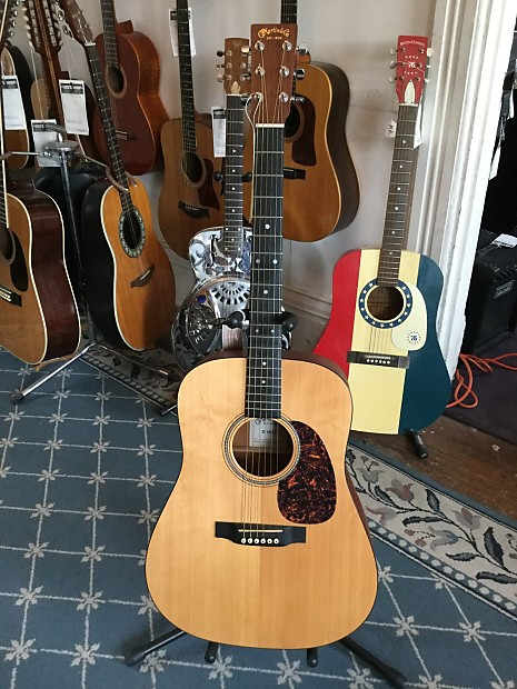 martin d 16gt acoustic guitar 2008 natural reverb. Black Bedroom Furniture Sets. Home Design Ideas