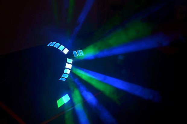 Colorkey tristar rgb led centerpiece effect light pair