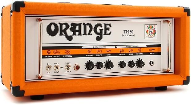 orange th30h 30 watt 2 channel tube head reverb. Black Bedroom Furniture Sets. Home Design Ideas