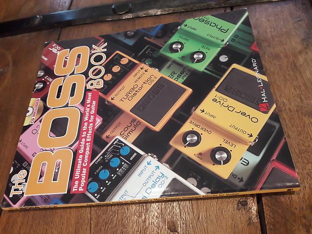 boss guitar effects guide book