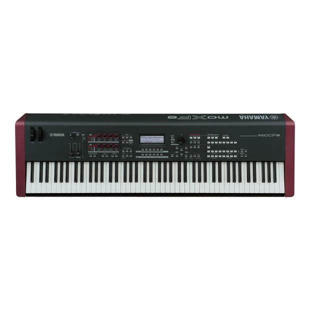 yamaha moxf8 88 key music production workstation reverb