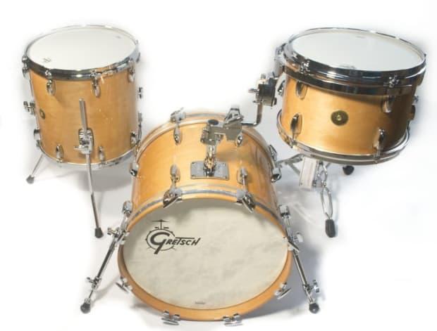 gretsch drums usa custom bop kit 2012 natural reverb. Black Bedroom Furniture Sets. Home Design Ideas