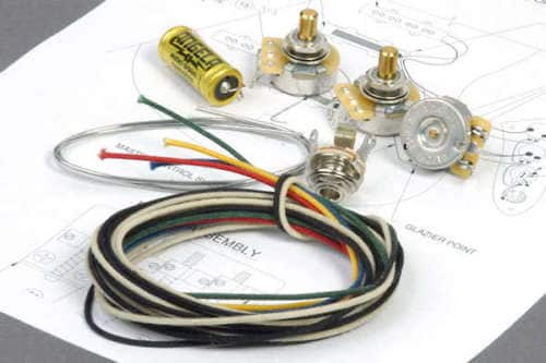Angela Instruments Premium Wiring Kit With Paper Oil Tone