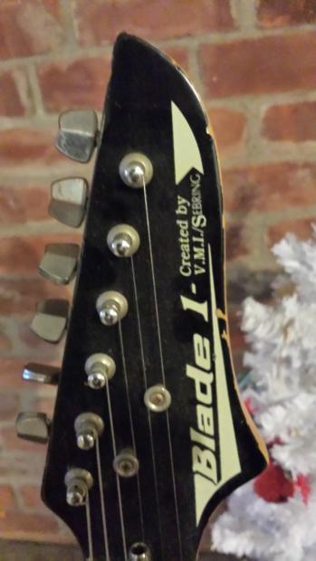 V M I Sebring Blade 1 1980s Red Reverb