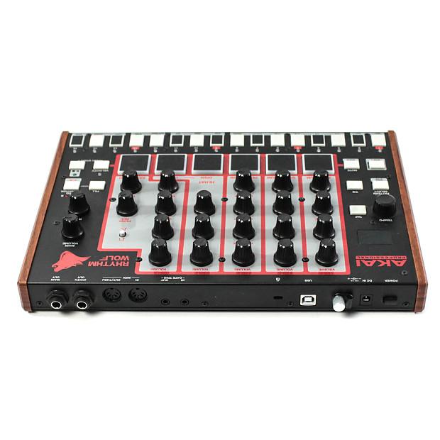 akai rhythm wolf analog drum machine bass synthesizer reverb. Black Bedroom Furniture Sets. Home Design Ideas