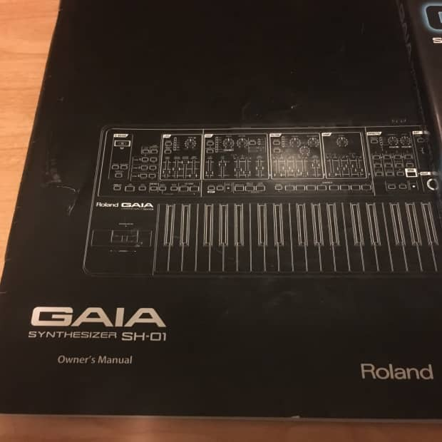 Crb Auto Payment >> Roland Gaia SH-01 Owners Manual & Software | Reverb