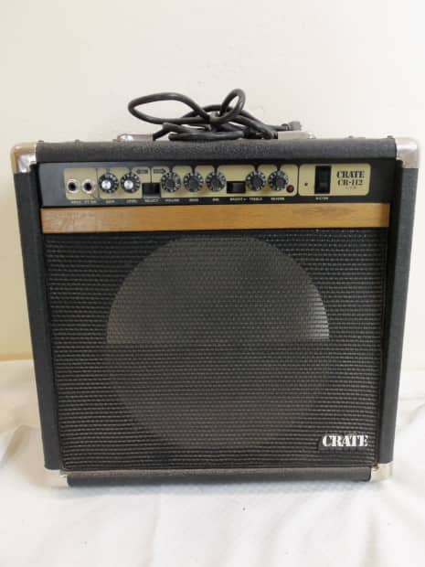crate cr 112 80 39 s combo guitar amp amplifier reverb. Black Bedroom Furniture Sets. Home Design Ideas