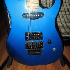 Performance/Musikraft Corsair 1985 Electric Blue - Partscaster image