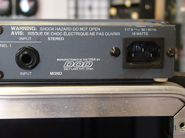 Dod 835 Series Ii Stereo Crossover 2 Way Stereo 3 Way
