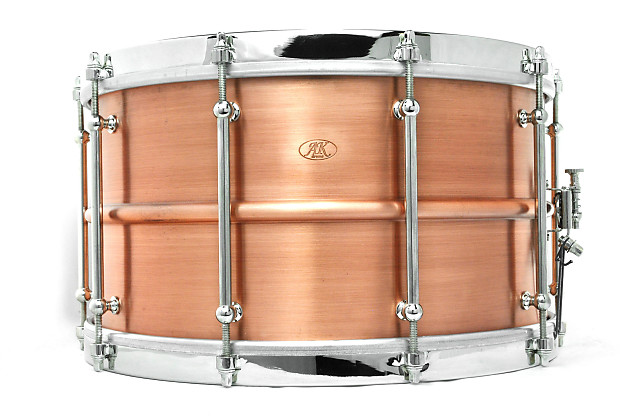 used ak drums copper standard snare drum 14x8 reverb. Black Bedroom Furniture Sets. Home Design Ideas