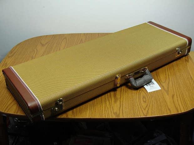 Fender Guitar Cases Vintage : fender vintage ri strat tele tweed hardshell case reverb ~ Hamham.info Haus und Dekorationen