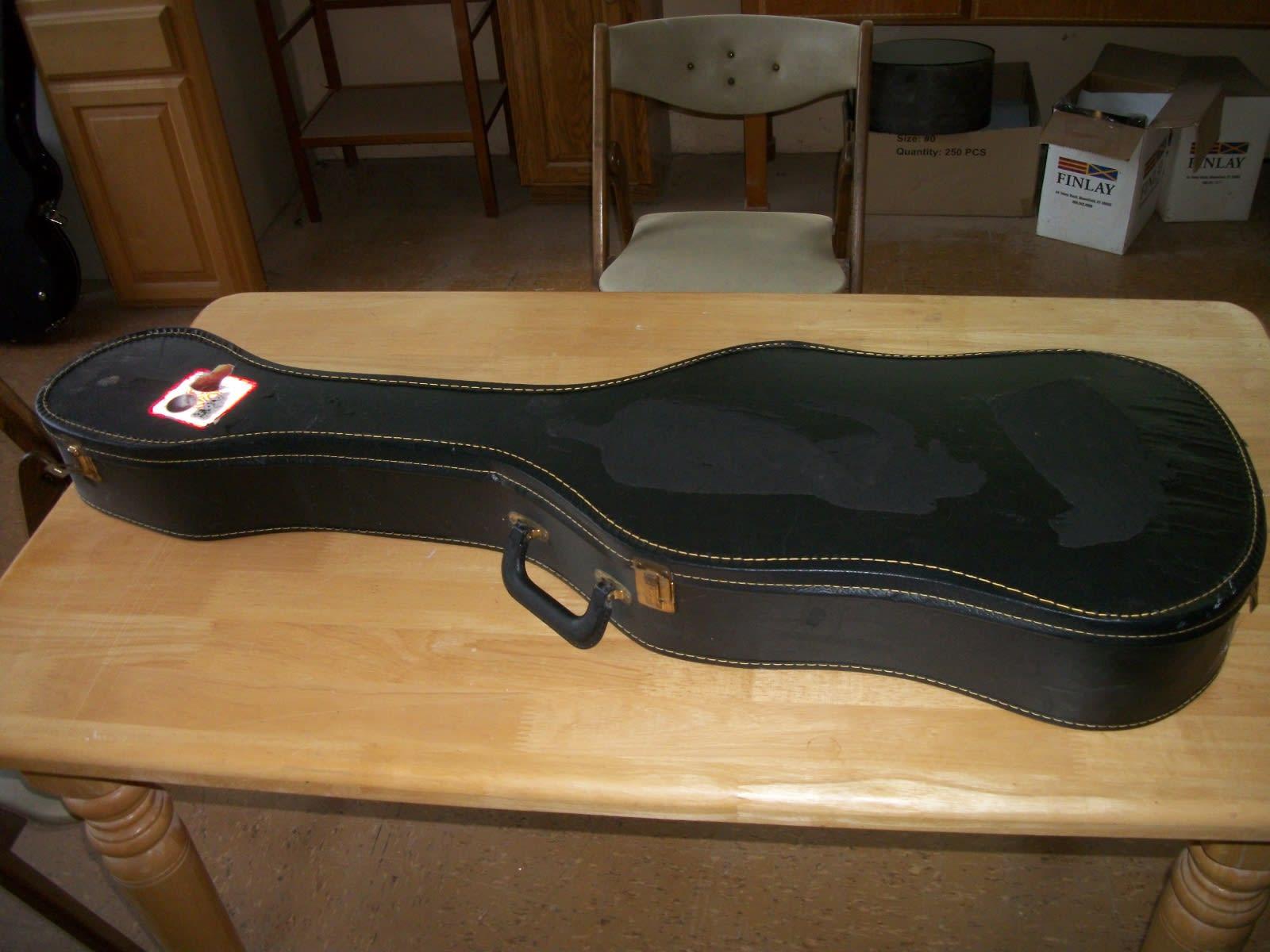 generic guitar case  Black