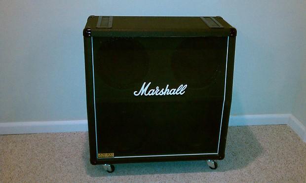 marshall jcm 900 lead 1960 a black slant 4x12 speaker cab. Black Bedroom Furniture Sets. Home Design Ideas
