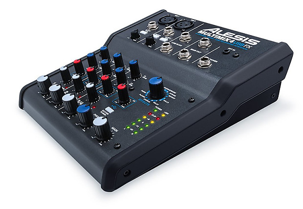 Alesis Multimix 4 USB FX 4 Channel Mixer With Effects Plus