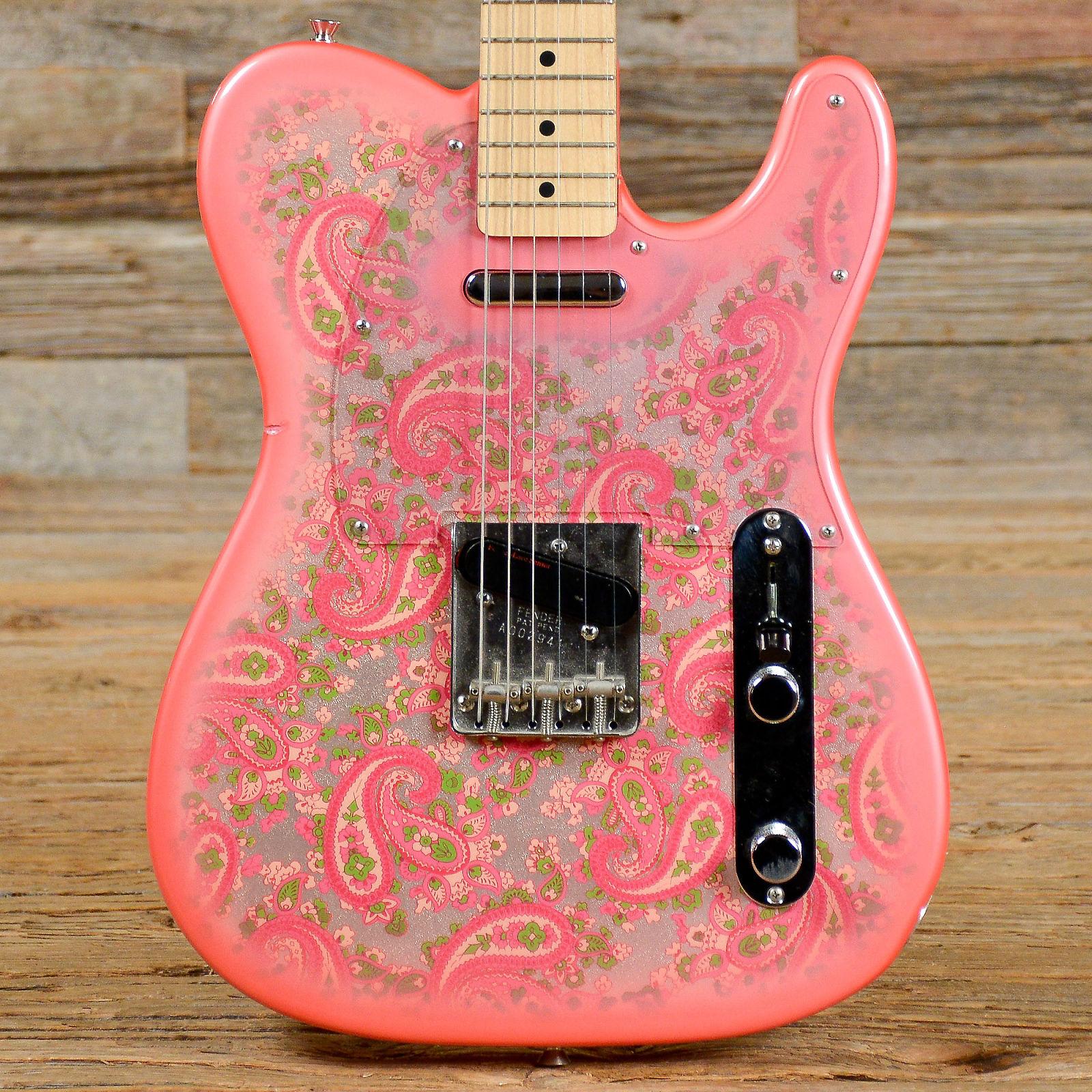 fender telecaster 39 69 reissue cij pink paisley reverb. Black Bedroom Furniture Sets. Home Design Ideas