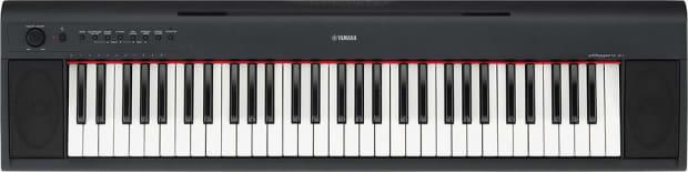 Yamaha np11 61 key piaggero digital piano reverb for Yamaha np11 digital piano