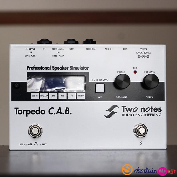 two notes torpedo c a b speaker simulator mint reverb. Black Bedroom Furniture Sets. Home Design Ideas