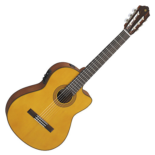yamaha cgx122msc acoustic electric classical guitar with reverb. Black Bedroom Furniture Sets. Home Design Ideas