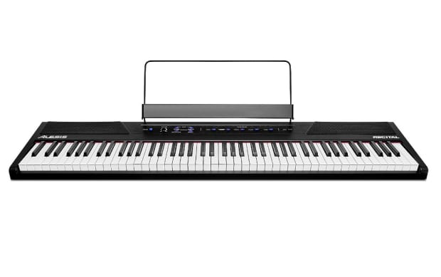 alesis recital 88 key digital piano with full size reverb. Black Bedroom Furniture Sets. Home Design Ideas