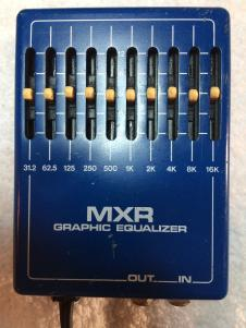MXR 10 Band Graphic Equalizer Blue image