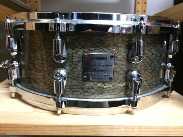 Yamaha 14x5 5 maple custom absolute nouveau snare 2004 for Yamaha stage custom steel snare drum 14x6 5