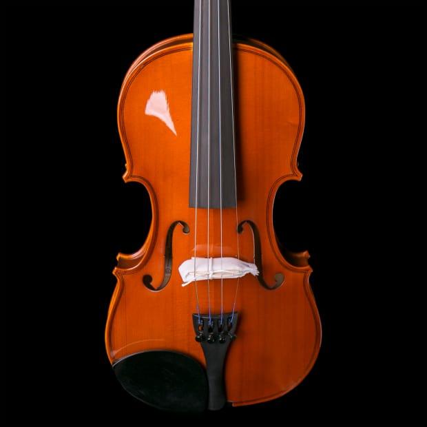 Yamaha v3 4 4 v3ska44 student violin mint case bow rosin for Violin yamaha 4 4