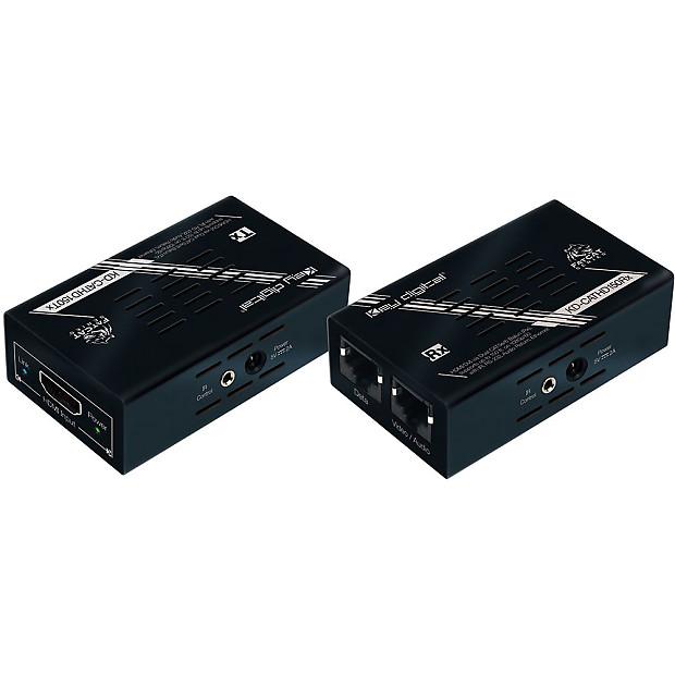 Key Digital Kd Cathd150 Hdmi Over Dual Cat5e Cat6 Extender