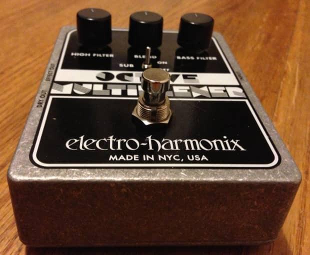 electro harmonix octave multiplexer analog sub octave reverb. Black Bedroom Furniture Sets. Home Design Ideas