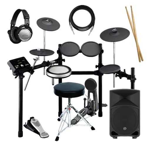 Yamaha Dtxk Electronic Drum Kit Bundle