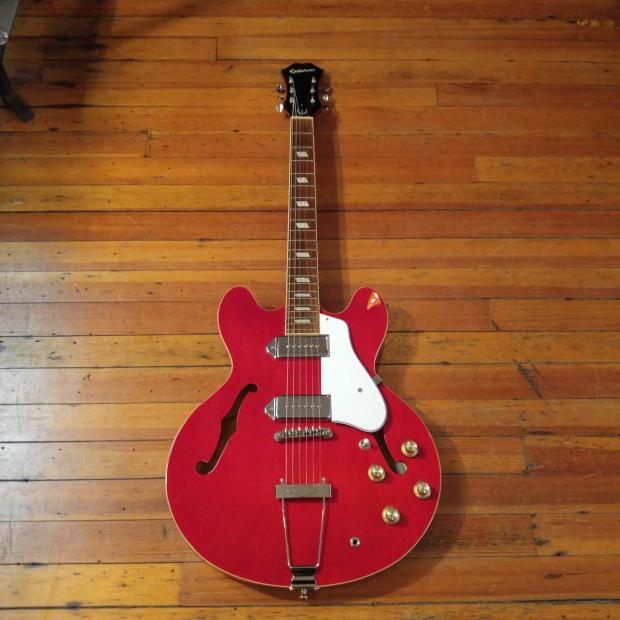 epiphone casino red